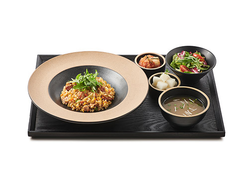 Chicken Fried Rice with Galbi Sauce
